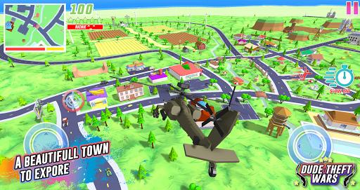 Code Triche Dude Theft Wars: Online FPS Sandbox Simulator BETA APK MOD (Astuce) screenshots 4