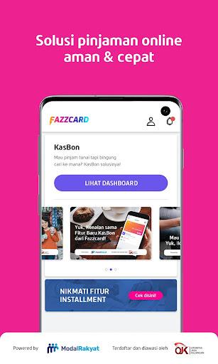 apk Fazzcard – KasBon Tunai Aman dan Cepat