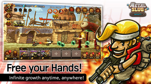 Metal Slug Infinity: Idle Game  screenshots 1