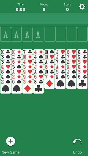 FreeCell (Classic Card Game) 1.0 screenshots 1