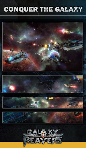 Galaxy Reavers - Starships RTS apkmr screenshots 17