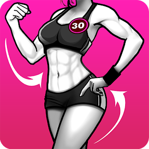 30 Days Women Workout Fitness Challenge 1.8 (Premium) by Fivestars Studio logo