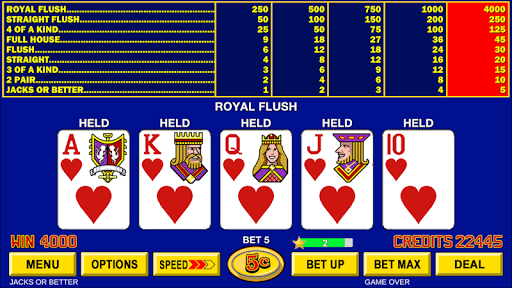 Video Poker - Classic Casino Games Free Offline 1.5.0 screenshots 2