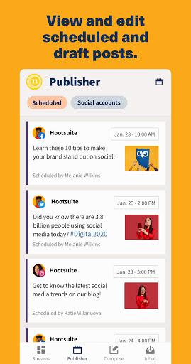 Hootsuite: Schedule Posts for Twitter & Instagram apktram screenshots 4