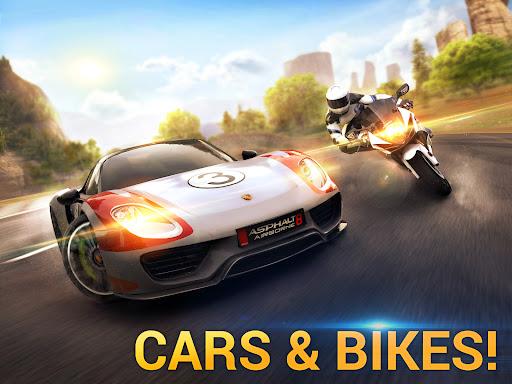 Asphalt 8 - Car Racing Game Apkfinish screenshots 9