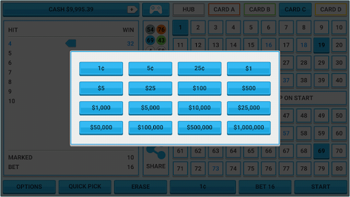 Colorful Keno: Las Vegas Casino Keno 4 Card Keno 1.7 screenshots 23