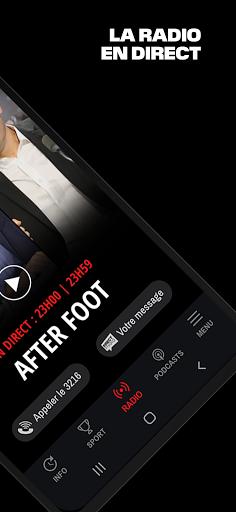 RMC ud83cudf99ufe0fInfo et Foot en direct - Radio & Podcast  Screenshots 3
