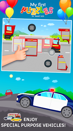 car puzzles for toddlers screenshot 2
