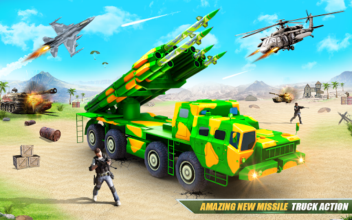 US Army Robot Missile Attack: Truck Robot Games 23 Screenshots 9