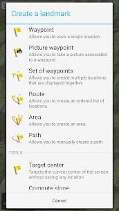 برنامج All In One Offline Maps APK 6