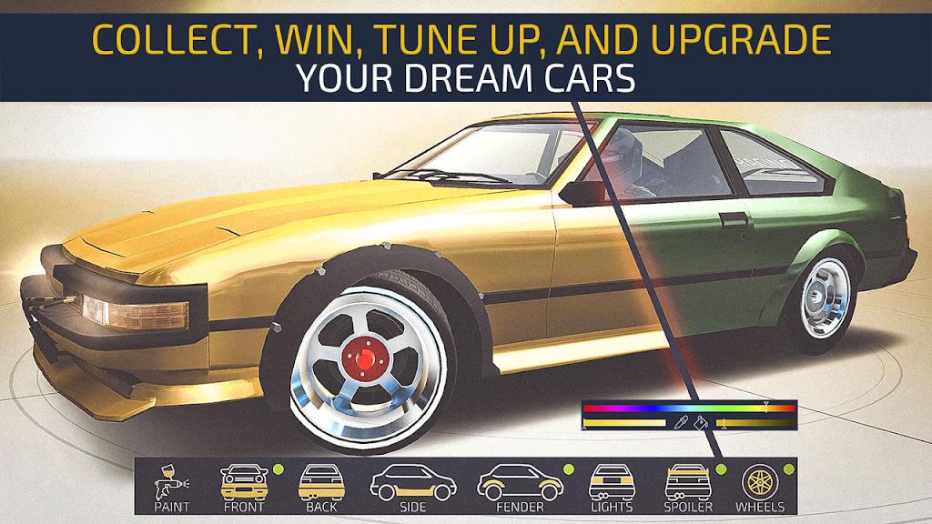 JDM Racing: Drag & Drift online races  poster 3