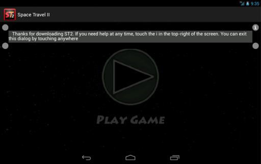 space travel ii screenshot 2