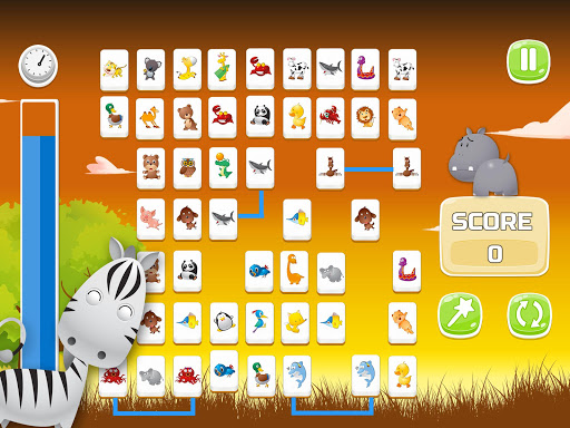 Connect Animals : Onet Kyodai (puzzle tiles game)  screenshots 9