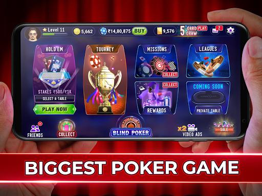 Poker Live! 3D Texas Hold'em 3.0.8 screenshots 8