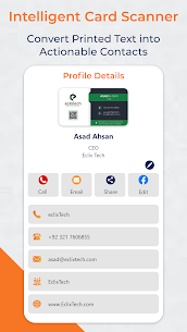 Business Card Scanner & Reader – Scan & Organize (PREMIUM) 4.5365 Apk 3