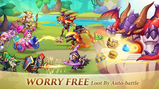 Idle Heroes MOD APK 1.25.0 (VIP 13) [Unlimited Gems/Money/Coins] 9