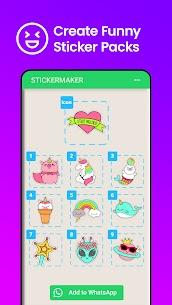 برنامج Sticker Maker صانع الملصقات لتطبيق واتساب اخر اصدار 5
