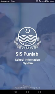 SIS Punjab Screenshot