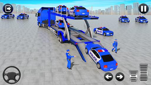 Grand Police Cargo Transport Truck:Car Parking Sim 1.0.2 screenshots 4