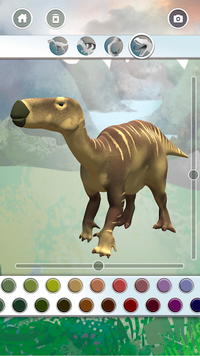 Dinosaurs 3D Coloring Book modavailable screenshots 3