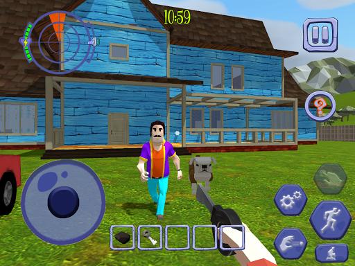 Scary Clown Man Neighbor. Seek & Escape Apkfinish screenshots 18