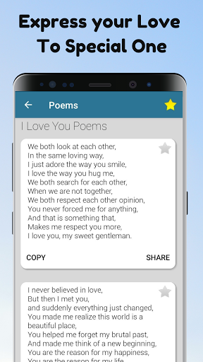 Poems For All Occasions - Love, Family & Friends android2mod screenshots 3