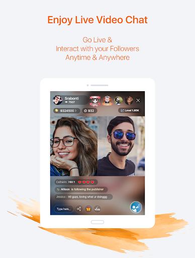 ringID- Live Stream, Live TV  and  Online Shopping 5.5.8 Screenshots 7