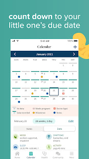 Ovia Pregnancy Tracker: Baby Due Date Countdown