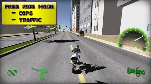Motorbike  Online Drag Racing - Wheelie racing 3D screenshots 6