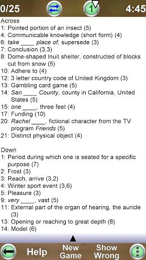 Barred Crossword 3.0.3 screenshots 5