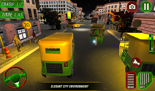 Tuk Tuk Auto Rickshaw Driver 2019:City Parking 1.5 screenshots 21