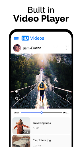 Video Downloader - Private File Downloader & Saver android2mod screenshots 3