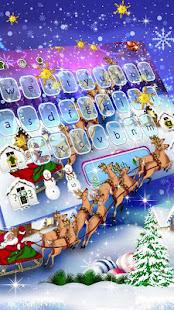 Snowflake Christmas Keyboard