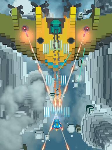 Sky Wings: Pixel Fighter 3D apktram screenshots 6