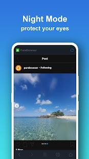 Pure Web Browser-Ad Blocker,Video Download,Private 2.0.9 Screenshots 5