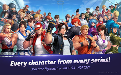 The King of Fighters ALLSTAR Apkfinish screenshots 11