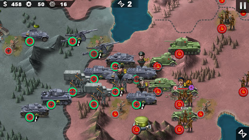 World Conqueror 4 - WW2 Strategy game 1.2.52 screenshots 1