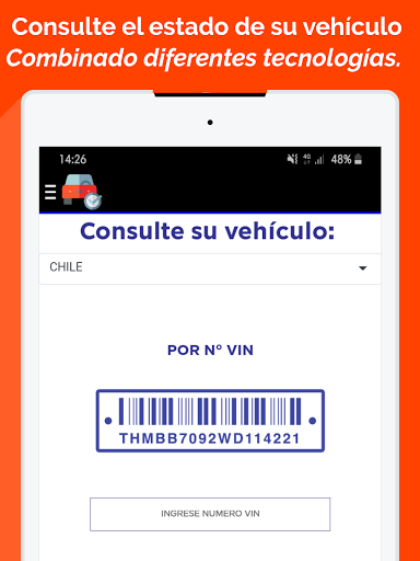Foto do Consulta de patente Chile