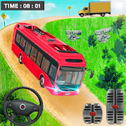 Coach Bus Simulator Games: Bus Driving Games 2021