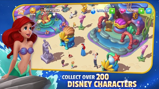 Disney Magic Kingdoms MOD APK (Unlimited Money Gems) 6.1.0l for android 2