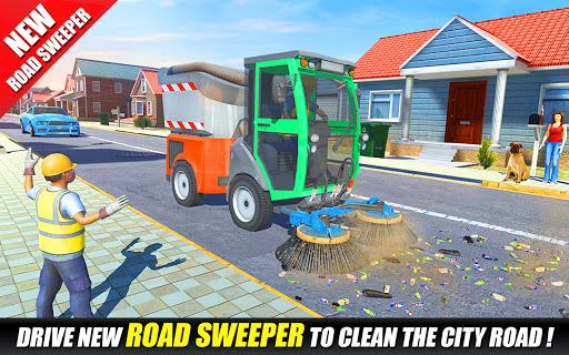 Offroad Garbage Truck: Dump Truck Driving Games 1.1.6 screenshots 5