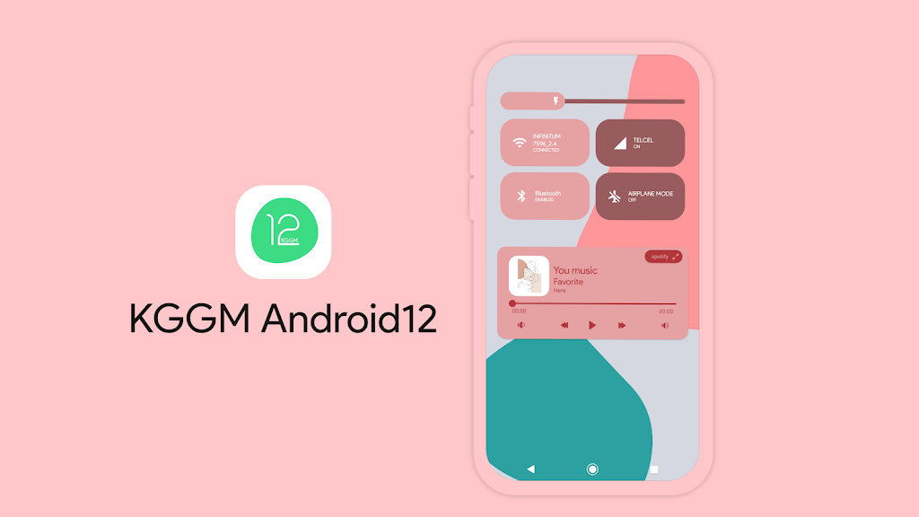 KGGM Android12 for KWGT  poster 1