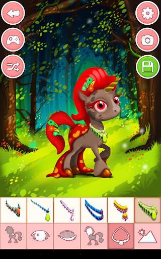 Unicorn & Pony Dress up Games 4.0 screenshots 9