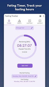 Fasting Tracker – Track your fast (PRO) 1.9 Apk 4