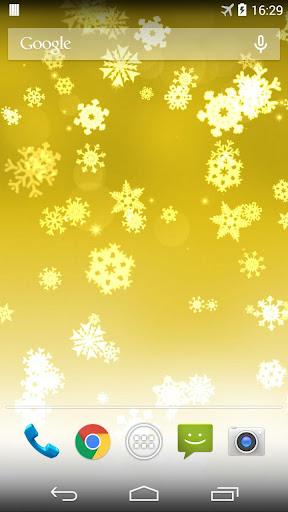 Snowflake Xmas Live Wallpaper ss1