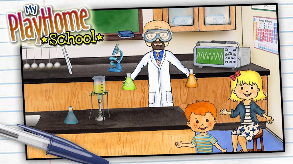 My PlayHome School  poster 0