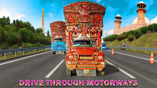 Pak Truck Driver: Heavy Cargo Trailer Truck Apps 3.0.6 screenshots 2