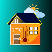 Room Temperature Thermometer : Weather Forecast