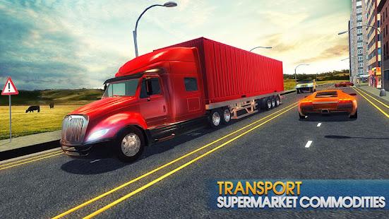 Truck Simulator Transporter Game - Extreme Driving apk