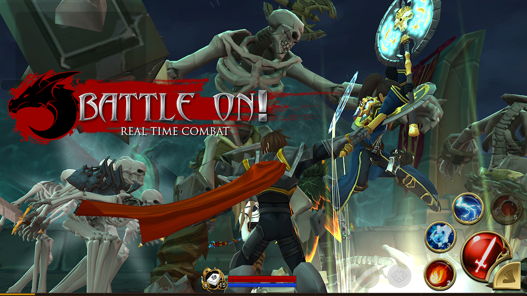 AdventureQuest 3D MMO RPG  poster 7